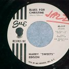 45-HARRY SWEETS EDISON-BLUES FOR CHRISTINE-WL Promo--NM