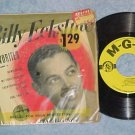 EP w/PS-BILLY ECKSTINE FAVORITES-Vol 2--1950-MGM-NM/VG+