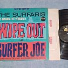 THE SURFARIS-WIPE OUT-VG+ Stereo 1963 LP--Dot DLP-25535