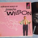 THE HUMOROUS WORLD OF JUSTIN WILSON--1961 LP--Ember 801