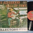 THE BLUEGRASS HALL OF FAME-VG++ Compilation LP on Gusto