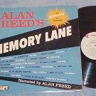 ALAN FREED'S MEMORY LANE-VG+ '62 Compilation LP-End 314
