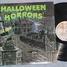 HALLOWEEN HORRORS--VG++ 1977 LP-Story and Sound Effects