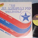THE ALL AMERICAN POP COLLECTION--Vol 1--NM/VG++ 1980 LP