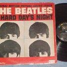 THE BEATLES--A HARD DAY'S NIGHT--VG Mono 1964 Sdk LP