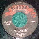 45--SCOTT BROTHERS--KEEP LAUGHIN'--1960--Ribbon 6905