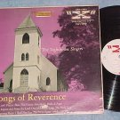 THE LIGHTHOUSE SINGERS--SONGS OF REVERENCE--VG+ 1955 LP