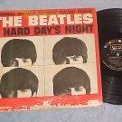 THE BEATLES--A HARD DAY'S NIGHT--Mono 1964 Sdk LP