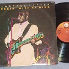 CLARENCE CARTER-MESSIN' WITH MY MIND-1986 LP on Ichiban