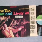 JOE TEX-LIVE AND LIVELY-NM/VG++ Stereo '68 LP w/Sticker