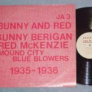 BUNNY BERIGAN-RED McKENZIE/MOUND CITY BLUE BLOWERS--LP