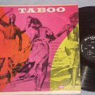 TABOO-VG++/VG+ 1959 LP-Native African Music-Riviera--#2