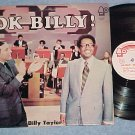BILLY TAYLOR-OK BILLY!-NM/VG++ 1970 WL Promo LP on Bell