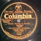 78--XYLO-RIMBA ORCHESTRA--Hawaii Songs--Columbia 515-D