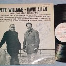 PETE WILLIAMS AND DAVID ALLAN-Private Schenectady,NY LP
