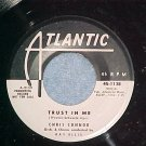45--CHRIS CONNOR--TRUST IN ME--Atlantic 1138--WL Promo