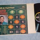 MAVIS RIVERS-TAKE A NUMBER--VG+ 1959 LP--Capitol T-1210