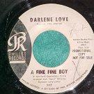 45-DARLENE LOVE-A FINE FINE BOY-Philles 117-WL Promo