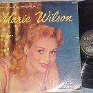 **MISTAKE RECORD** Front:MARIE WILSON; Back:TEXAS JIM R