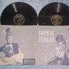 (2) 78s w/Autograph Gatefold PS-SOPHIE TUCKER-'47-Decca