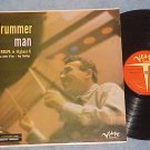 GENE KRUPA-DRUMMER MAN-LP--Orange Verve lbl-Anita O'Day