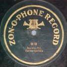 1-sided 78--Zonophone 919--PEERLESS QUARTETTE--c. 1907