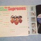 THE SUPREMES--MERRY CHRISTMAS--NM/VG+ 1st Press 1965 LP