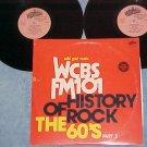 WCBS FM101-HISTORY OF ROCK-'60's-Part 3--NM/VG+ Dbl LP