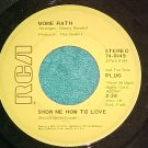 45-MOME RATH-SHOW ME HOW TO LOVE--1971-Promo--RCA--VG++