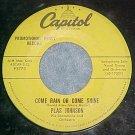 45-PLAS JOHNSON ORCH-COME RAIN OR COME SHINE-1957-Promo