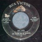 45--OSIE JOHNSON & ORCH.--HALF LOVED--1956--RCA 47-6547