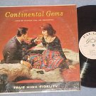 JACQUES DARIEUX & ORCH.--CONTINENTAL GEMS--NM shrink LP