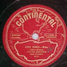 78-LEVITCH BROTHERS-LOVE SONGS-Continental C-1025-'40's