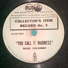 "7"" 78-RUSS COLUMBO/RUDY VALLEE--COLLECTOR'S ITEM RECORD"