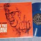 BERT HENRY IN THE RAW--NM/VG+ LP--Fax 3003--Blue Vinyl