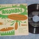 EP w/PS--LOS RHUMBEROS DE CUBA--RHUMBAS--Mid-50's--Tico