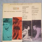 ON THE BEACH-Stereo 1959 Sdk LP-Roulette ~JACKET ONLY~