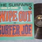 THE SURFARIS--WIPE OUT--VG+ Mono 1963 LP--Dot DLP-3535