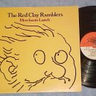 THE RED CLAY RAMBLERS--MERCHANTS LUNCH--NM/VG+ 1977 LP