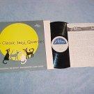 THE CLASSIC JAZZ QUARTET--s/t NM 1985 LP on Jazzology