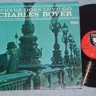 CHARLES BOYER-WHERE DOES LOVE GO-NM '65 LP-Valiant 5001