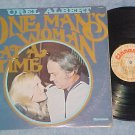UREL ALBERT--ONE MAN'S WOMAN AT A TIME--NM/VG+ 1974 LP