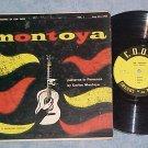 """CARLOS MONTOYA-PATTERNS IN FLAMENCO-10""""50s LP-Cook 1028"""