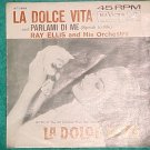 45 PS Only-LA DOLCE VITA--Ray Ellis--RCA Victor 47-7888