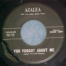 45-DOUGH TERRY-YOU FORGOT ABOUT ME-1960--Azalea 133/134