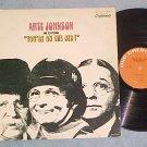 ARTE JOHNSON-YOU'RE ON THE AIR!--1971 LP--GNP Crescendo