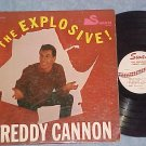 THE EXPLOSIVE FREDDY CANNON--Mono 1960 LP--Swan 502