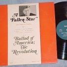 JOHN G. CROFF-A FALLEN STAR-Monologue about JFK-1966 LP