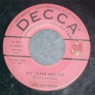 Promo 45-PAT SHANNON--THE SNAKE AND THE BOOKWORM--Decca