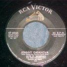 45-JAYE P MORGAN-JOHNNY CASANOVA-1955-RCA 47-6565--VG++